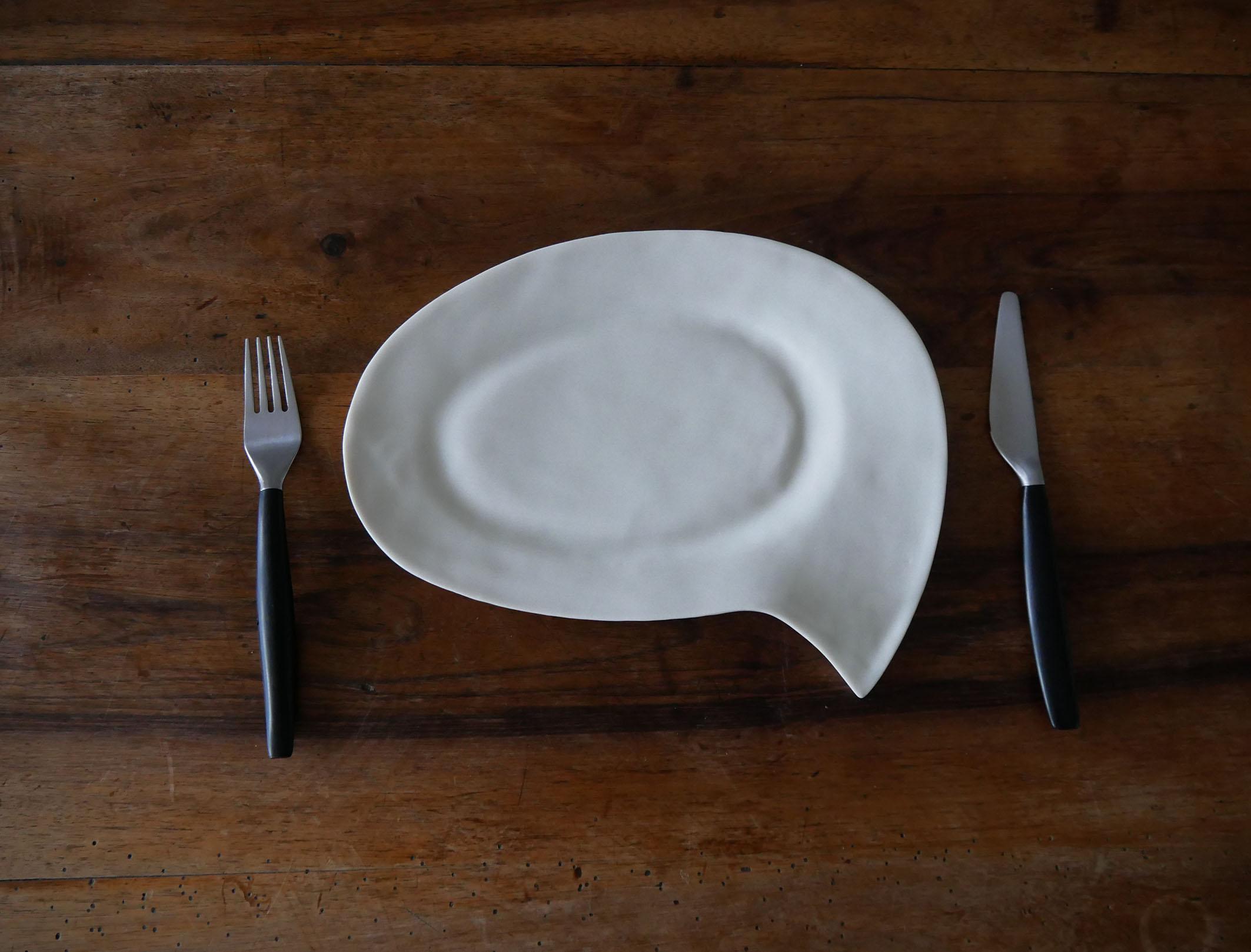 assiette phylactère