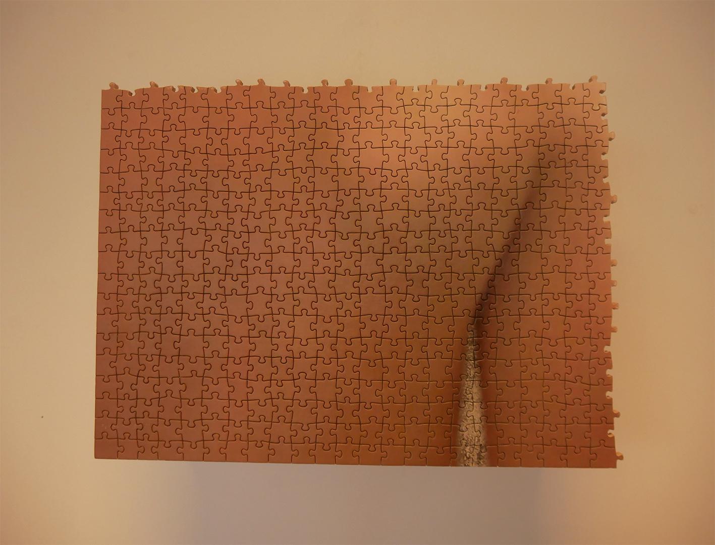 de chair et de pixel d'image faceproche