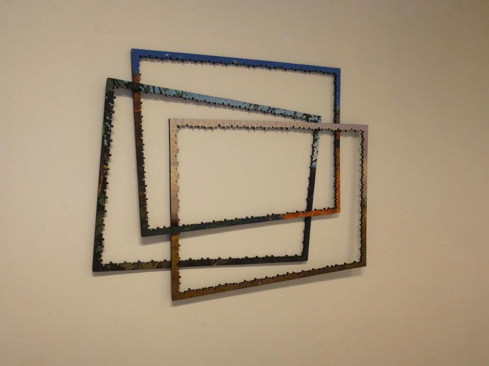 vue de la pièce trois cadre au mur Net