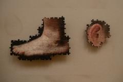 pied et oreille sans resine